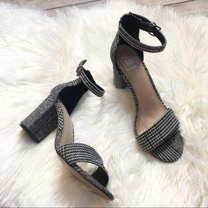 Gap Tweed Block Heel Sandals | 7.5